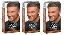 Just for Men Touch of Gray, Hair Treatment, Medium Brown-Gray T-35 (3 Pack)