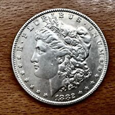 More details for us silver dollar 1882 vf-ef nice coin.