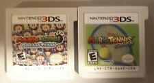 Mario & Luigi: Dream Team (Nintendo 3DS, 2013) & Mario Tennis Open 3DS Authentic