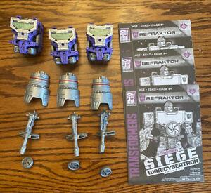Transformers: Siege - Refraktor (Deluxe) *Set of 3 Figures*