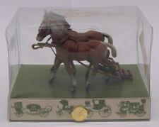 Brumm scala 1/43 BH01-Equestrian Coppia di cavalli per carrozze