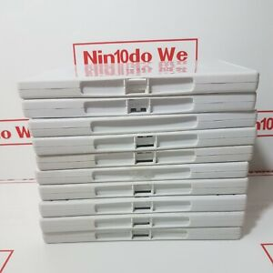 10 x Used Genuine Nintendo white Wii EMPTY Video Game/dvd cases Acceptable Cond.