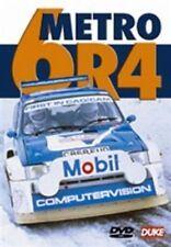 Metro 6R4 (New DVD) Rover Rally Rallying Pond Llewellyn McCrae 4WD Rallycross