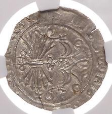 SPAIN. Ferdinand and Isabella, 1474-1504, Silver 2 Reales, Granada, NGC MS61