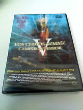 """DVD """"LOS CHICOS DEL MAIZ V 5 CAMPOS DEL TERROR"""" PRECINTADO SEALED STEPHEN KING"""