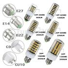 Lampadina G9 E14 E27 GU10 10/14/18/20/26/30W LED 5733 SMD Mais AC 220V Lampada
