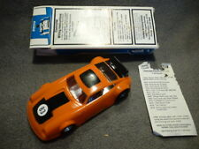 Parma Whisperjet Porsche Carrera - Lexan orange unbespielt in 1:24 mit OVP