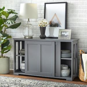 Jefferson Sliding Door Stackable Cabinet  Sliding Doors  1 Adjustable Shelf  Cra