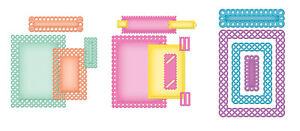 Spellbinders Nestabilities, Card Creator S5-133 / S5-134 / S5-136 - Auswahl -