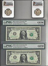 2 sets-2015 US American $1 Coin and Currency Set NGC SP69 Early Release