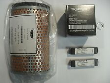triumph thruxton/scrambler service kit mit filter genuine parts