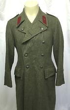 Vintage Swedish Army Heavy Winter Trench Coat