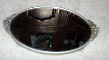 "Vintage Mirror Gold ORMOLU Vanity Dresser Perfume Tray 14 1/2"" by 9"""
