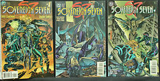 "Sovereign Seven 1, 2 & 3 1995 nr.m ""cent"" issues   Claremont's first 3 DC Comics"