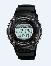 Casio Men's WS200H-1BV  Waveceptor Watch with Black Band