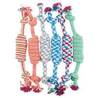 Jouets Pour Animaux Compagnie Pour Chien Drôle Chew Knot Coton Bone Cordes FE