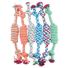 Pet Toys for dog funny Chew Knot Cotton Bone Rope Puppy Dog toy pet supplies WQZ
