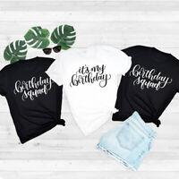 Birthday Girl T-Shirt It's My Birthday Tee Shirts Women Ladies Men Birthday Gift