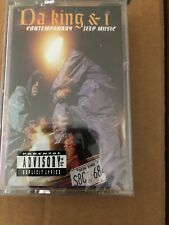 DA KING AND I CONTEMPORARY JEEP MUSIC AUDIO CASSETTE BRAND NEW FACTORY SEALED