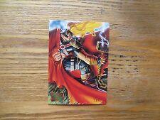 1995 FLEER MARVEL MASTERPIECES THOR CARD SIGNED DAVE DEVRIES ARTWORK