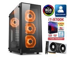 Gaming PC Intel I7-9700KF 4,9Ghz Nvidia RTX 2080 SUPER RAM 16GB SSD FORTNITE RGB