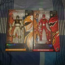 POWER RANGERS LIGHTNING COLLECT SPECTRUM DINO THUNDER RED RANGER & WHITE RANGERS