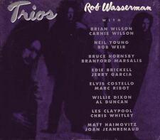 Rob Wasserman Trios CD ~ featuring Jerry Garcia, Bob Weir, Neil Young ~ Sealed!