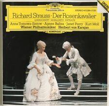 RICHARD STRAUSS DER ROSENKAVALIER QUERSCHNITT HIGHLIGHTS CD WEST GERMAN 1984