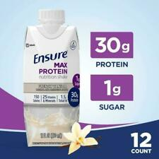 Ensure Max Protein Nutrition shake French Vanilla 11 oz ( Pack of 12 )