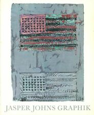 JOHNS - Jasper Johns Graphik. Catalogo in tedesco della mostra di Berna del 197
