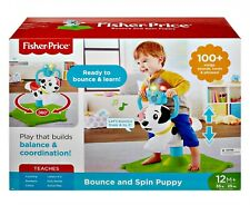 New Toddler Bounce and Spin Interactive Puppy with Lights and Sounds, 12 months