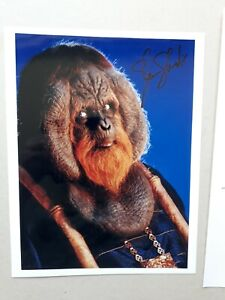 """GLEN SHADIX signed 10""""x8"""" PHOTO with UACC RD C.O.A. POTA planet of the apes"""