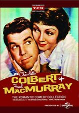 Claudette Colbert  Fred MacMurray Romantic Comedy Collection DVD 3-Disc Set New