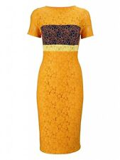 BNWT Myleene Klass Colour Block Lace Pencil Evening Occasion Dress Size 12 NEW
