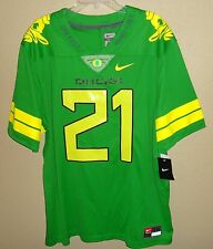 NWT XXL NIKE OREGON DUCKS LIMITED ONCE A DUCK FOOTBALL JERSEY SEWN $150 APPLE