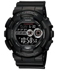 NEW CASIO G-SHOCK GD100-1B BLACK RESIN DIGITAL MILITARY MENS WATCH NWT!!!