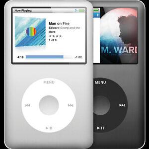 New other Apple iPod Classic video 30gb,80gb,128gb,256gb,512gb,1TB  Perfect Gift