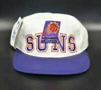 Phoenix Suns NBA Twins Enterprise Vintage 90's Wool Adjustable Strapback Cap Hat