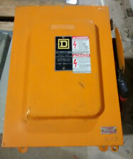 Square D Hu661awk 600v Non Fusible 30a Heavy Duty Enclosed Switch Disconnect