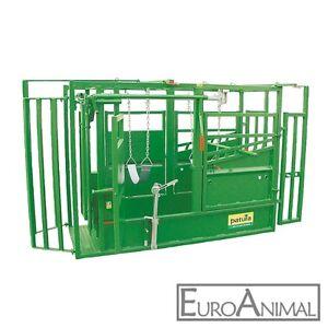 Patura Behandlungs - Fangstand A 5000 KW mit Vorderfußwinde / Klauenpflegestand