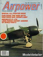 Airpower Magazine V26 N3, P-47 Japan Mitsubishi Hinomaru Zero Fighter A6M Zuisei