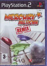 MERCURY MELTDOWN REMIX (2006) PS2 PAL IMPORT BRAND NEW NUOVO SIGILLATO