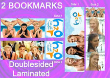 2 SET-H20 BOOKMARKS H2O Mermaids Just Add Water TV Kids Girls and Boys SHOW
