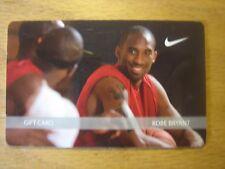NIKE KOBE BRYANT  COLLECTIBLE GIFT CARD