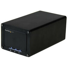 "StarTech USB 3.1 10gbps External Enclosure for Dual 2.5"" SATA Drives S252BU313R"