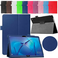 Leather Case For Huawei Mediapad T3 10 2017 Magnetic Stand Flip Book Smart Cover
