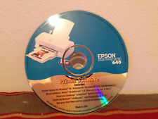 Epson stylus color 640 printer software DISC ONLY