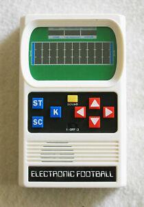 MATTEL Retro Handheld Electronic Football Game White
