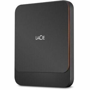 LaCie 500GB Portable USB 3.1 Gen 2 Type-C External SSD STHK500800