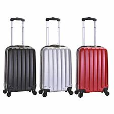 Ryanair Hard Side Cabin Approved Spinner Trolley Hand Luggage Suitcase Bag Case